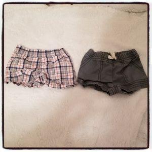 Newborn Boy Shorts